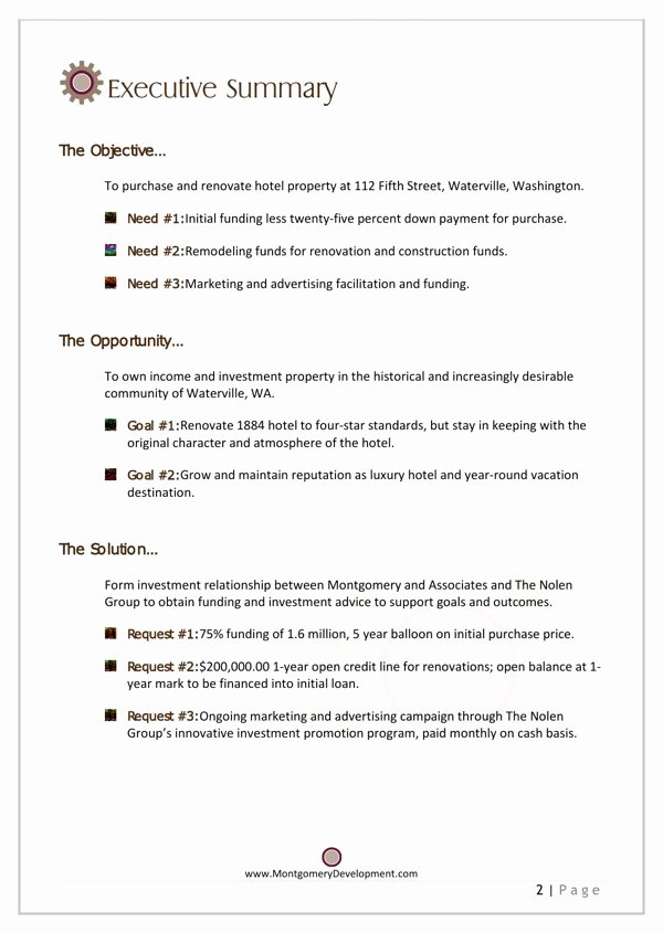 Real Estate Investment Proposal Template Beautiful Download Real Estate Investment Funding Proposal for Free