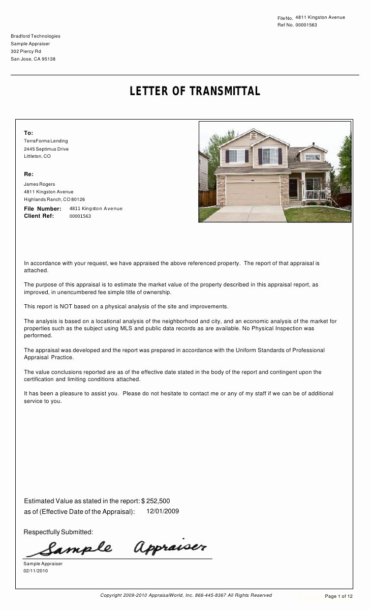 Real Estate Market Report Template Fresh Collateral Valuation Report Cvr