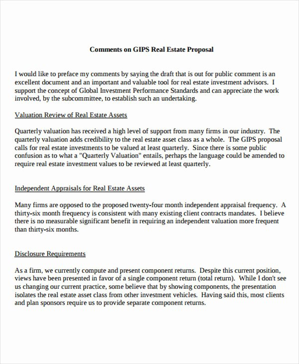 Real Estate Proposal Template Fresh 13 Real Estate Business Proposal Templates Free Word Pdf format Download