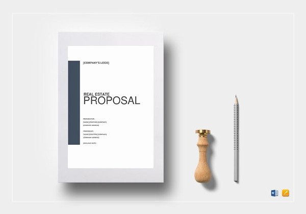 Real Estate Proposal Template New 13 Real Estate Business Proposal Templates Free Word Pdf format Download