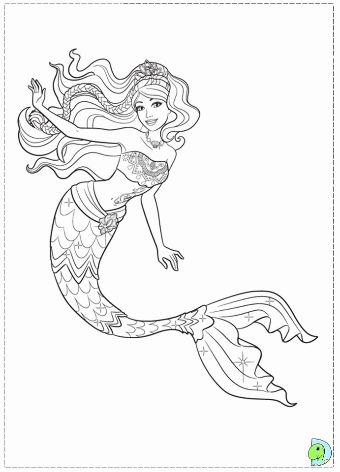 Realistic Mermaid Coloring Pages Unique Realistic Mermaid Coloring Pages and Print for Free Coloring