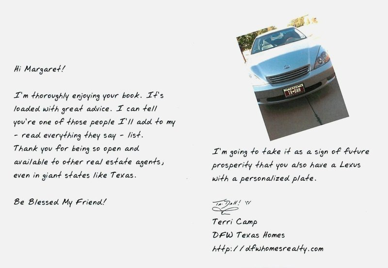 Realtor Thank You Notes Beautiful This is A Perfect Example Of Agent to Agent Admiration and Appreciation