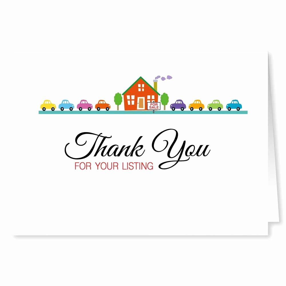 Realtor Thank You Notes Inspirational Thank You Notes for Realtors form Template From to Sellers Sample Note Real Estate Referral