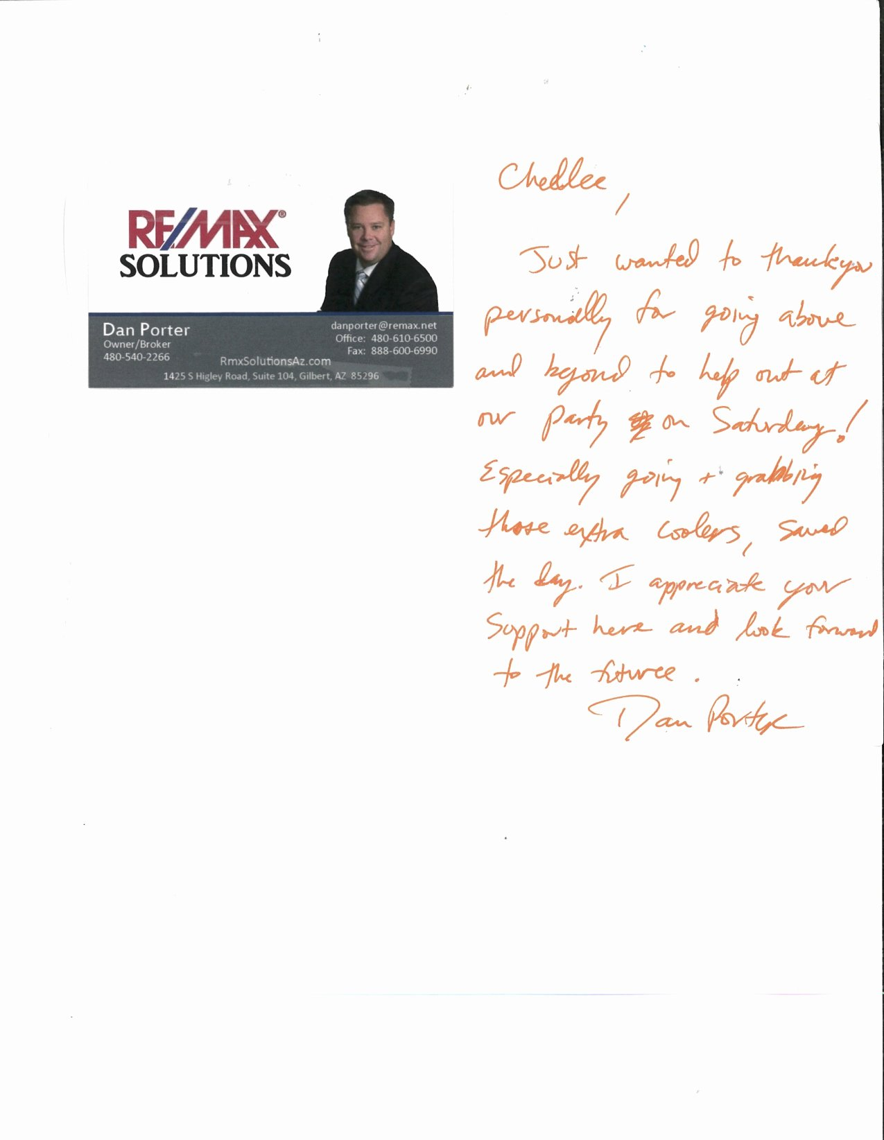 Realtor Thank You Notes Unique Thank You Note Copy – Equity Title Agency