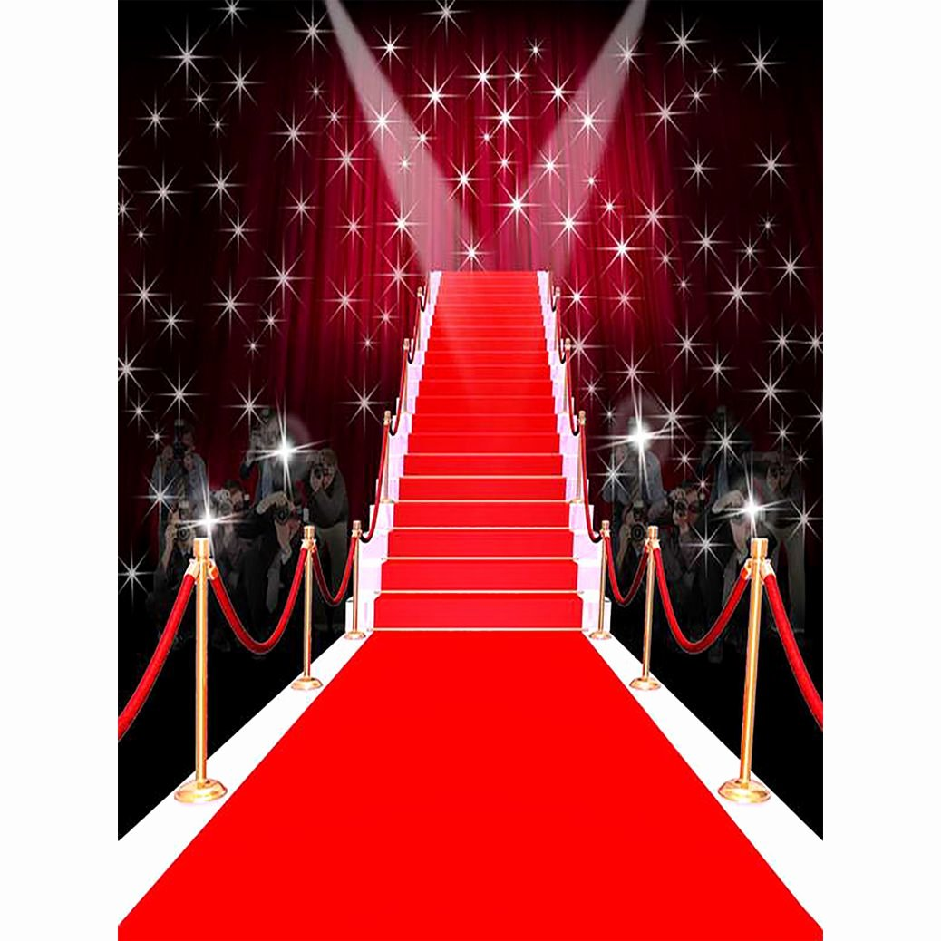 Red Carpet Backdrop Template Awesome Allenjoy Graphy Backdrop Tees Dazzling Red Carpet Fashion Fantasy Shiny Stars Background
