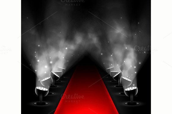 Red Carpet Backdrop Template Awesome Red Carpet Backdrop Mockup Template Designtube Creative Design Content