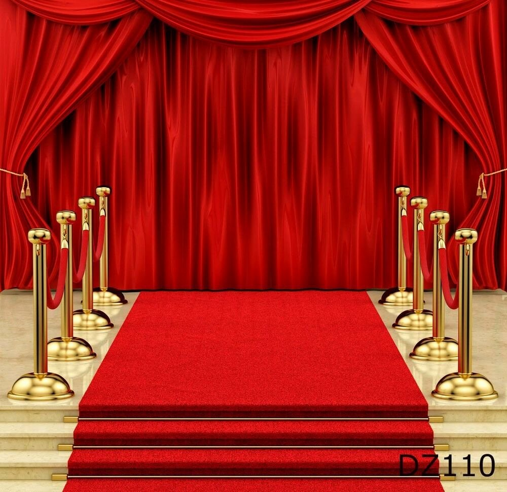 Red Carpet Backdrop Template Best Of Red Carpet Stage Vinyl Backdrop Graphy Prop Background 10x10ft Dz110