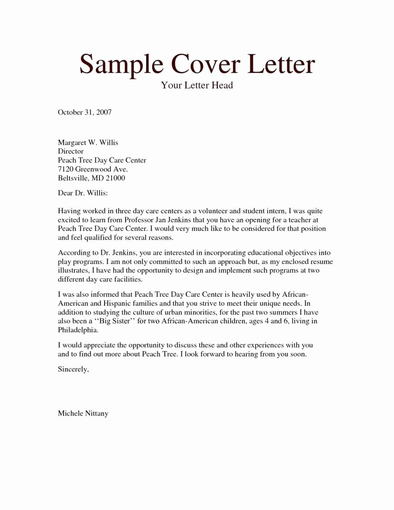 Reference Letters for Babysitters Awesome 10 Letter Reference for Babysitter