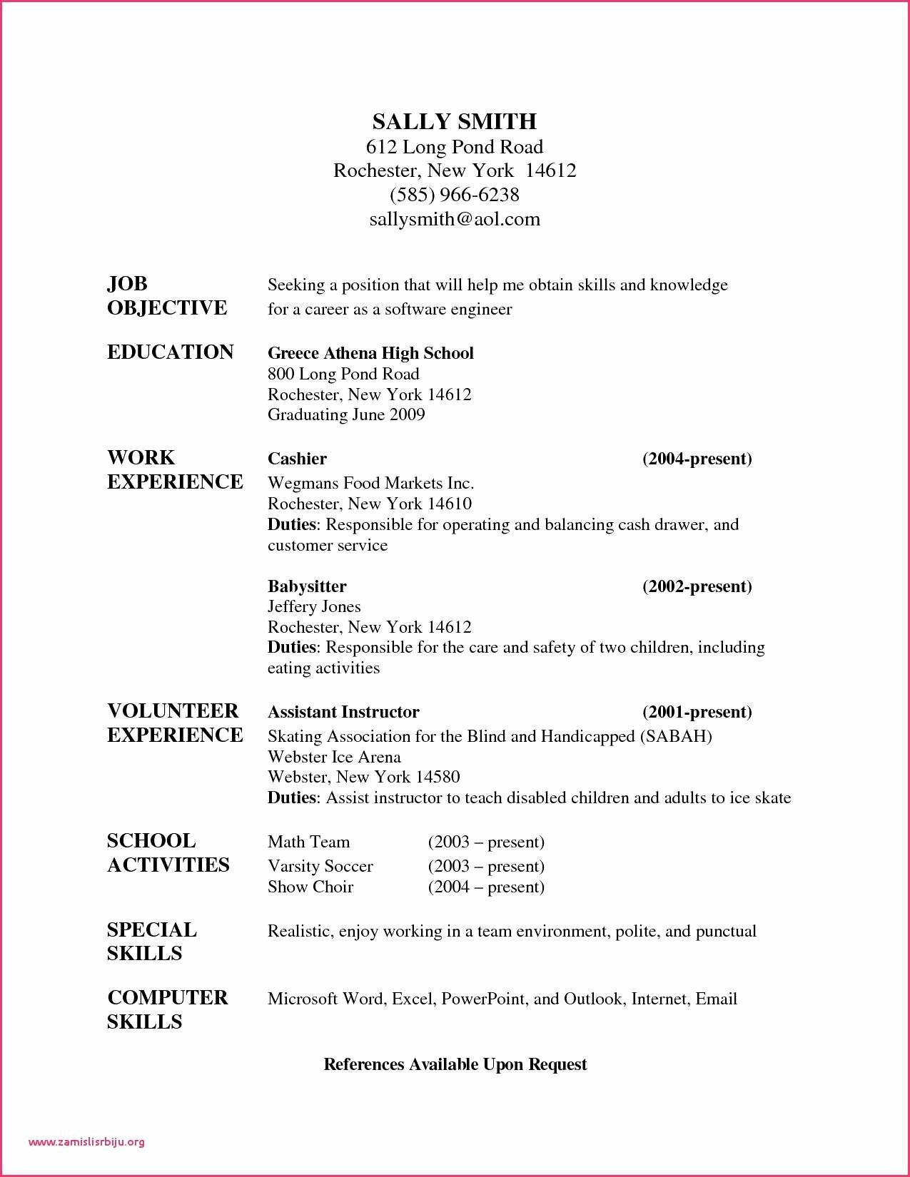 Reference Letters for Babysitters Elegant 10 Letter Reference for Babysitter