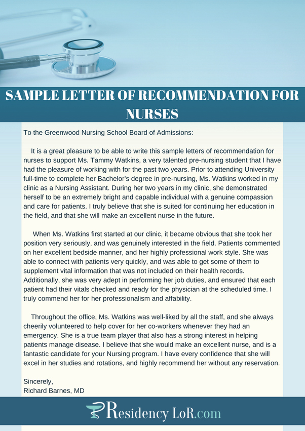 Reference Letters for Nursing School New What is A Good Sample Letter Of Intent for A Nursing School Quora