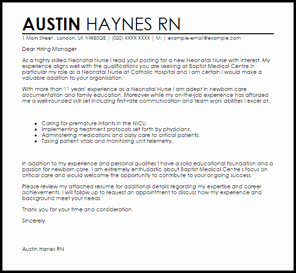 Registered Nurse Resignation Letter Awesome Rn Resignation Letter