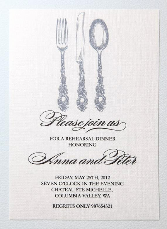 Rehearsal Dinner Invitation Template Unique Items Similar to Printable Rehearsal Dinner Invitation On Etsy