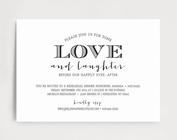 Rehearsal Dinner Invitation Template Unique Rehearsal Dinner Invitation Wedding Rehearsal Dinner