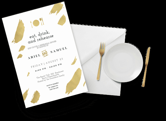 Rehearsal Dinner Invitation Template Word Awesome Rehearsal Dinner Invitation Templates Free