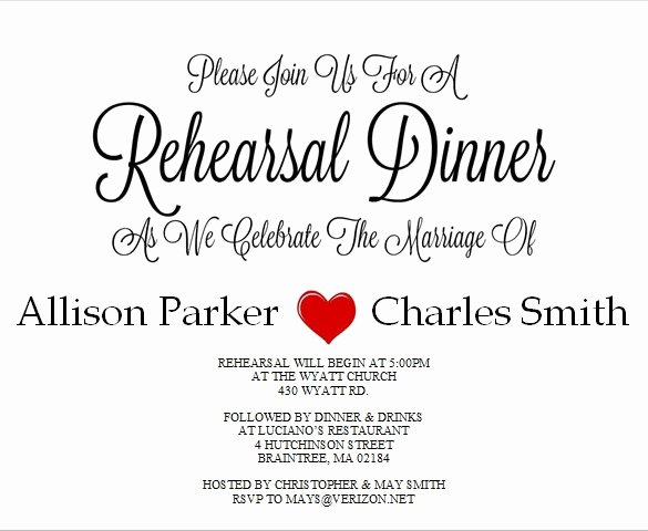 Rehearsal Dinner Invitation Template Word Beautiful 49 Dinner Invitation Templates Psd Ai Word