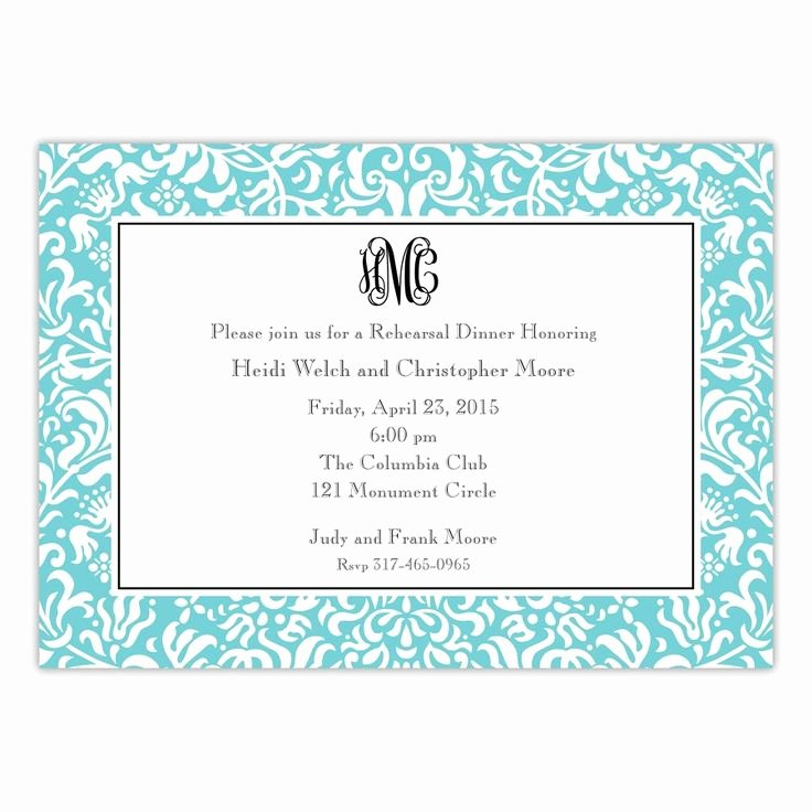 Rehearsal Dinner Invitation Template Word Lovely 9 Best southern Invitations Images On Pinterest