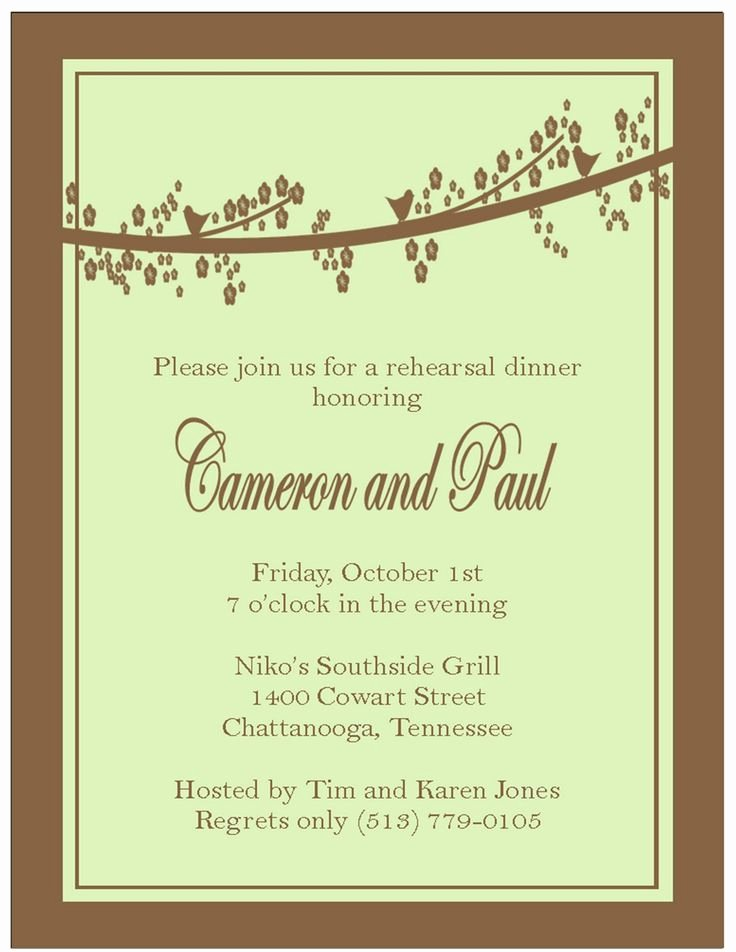 Rehearsal Dinner Invitation Template Word New 9 Best southern Invitations Images On Pinterest