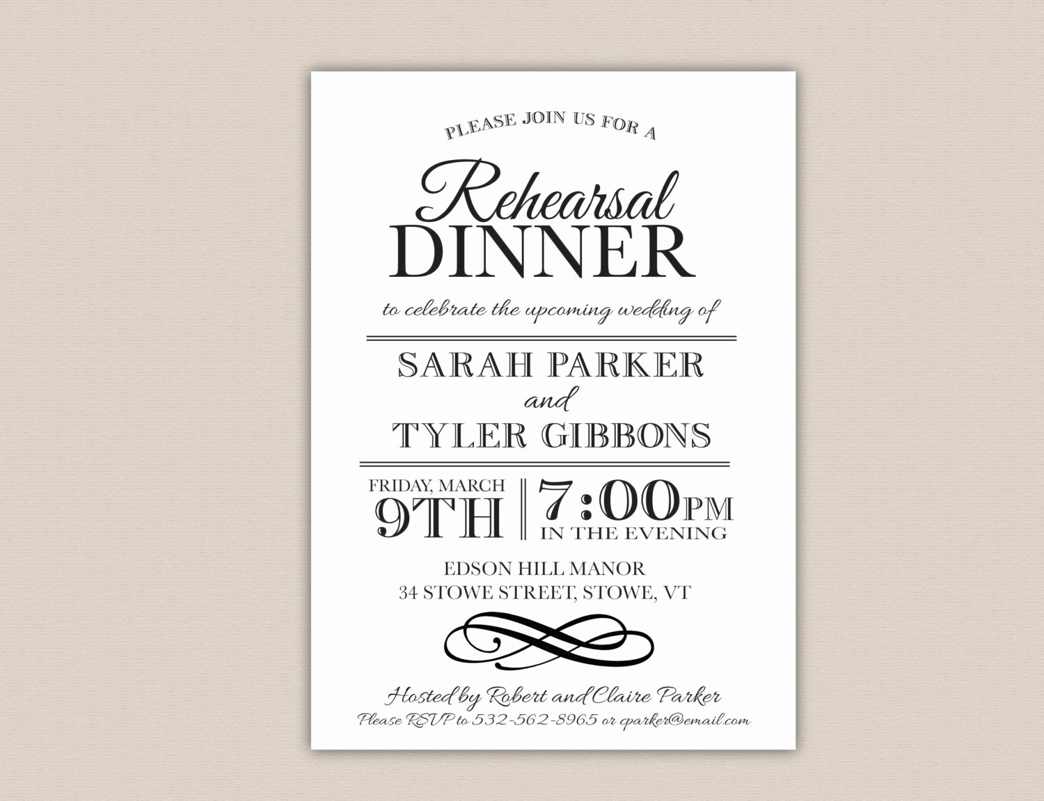 Rehearsal Dinner Menu Template Awesome Rehearsal Dinner Invitation Template Free