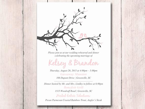 Rehearsal Dinner Menu Template Beautiful Rehearsal Dinner Invitation Template Printable Wedding