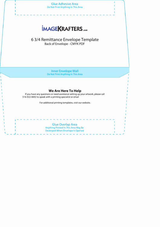 Remittance Envelope Template Word Fresh 6 3 4 Remittance Envelope Template Printable Pdf
