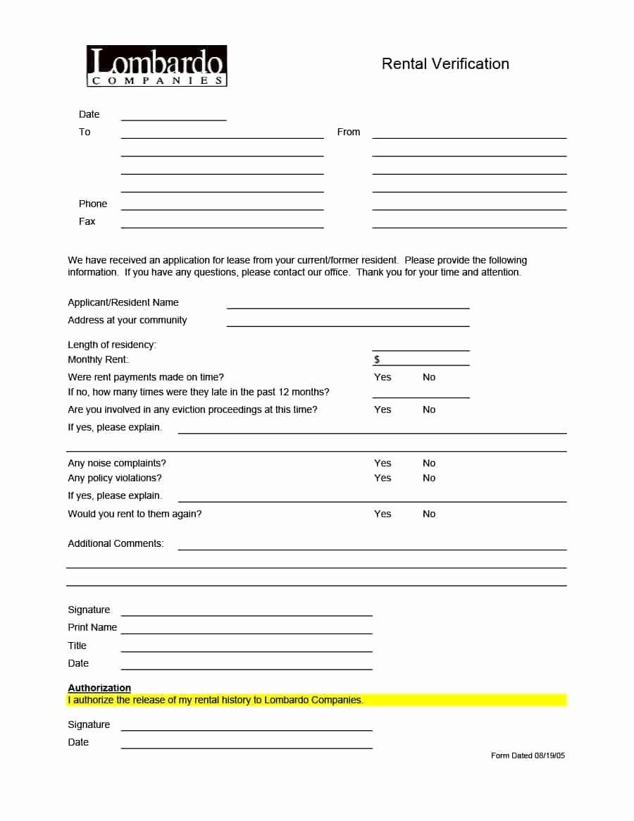 Rental Application form Nc Awesome 10 Rental Application form Nc