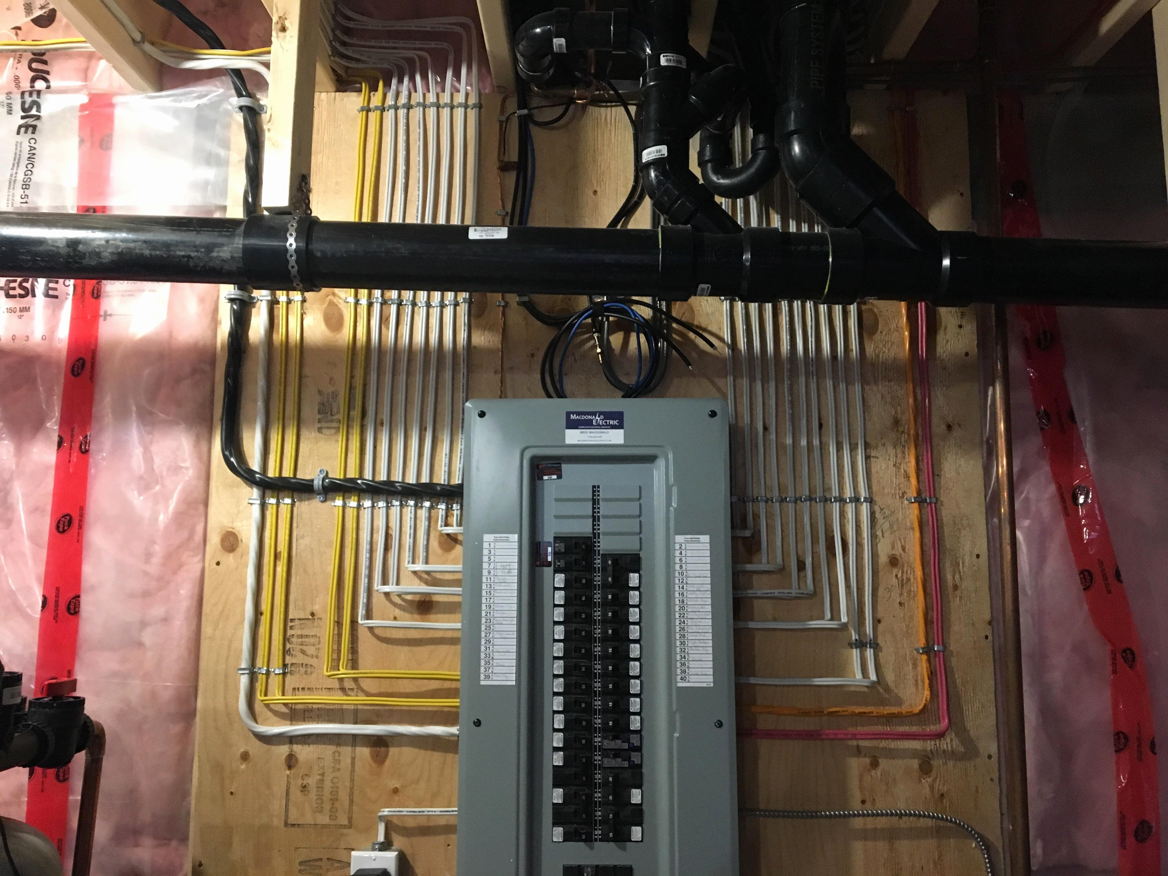 Residential Electrical Panel Schedule Luxury when Do You Need An Electrical Panel Upgrade Vancouver Electrician