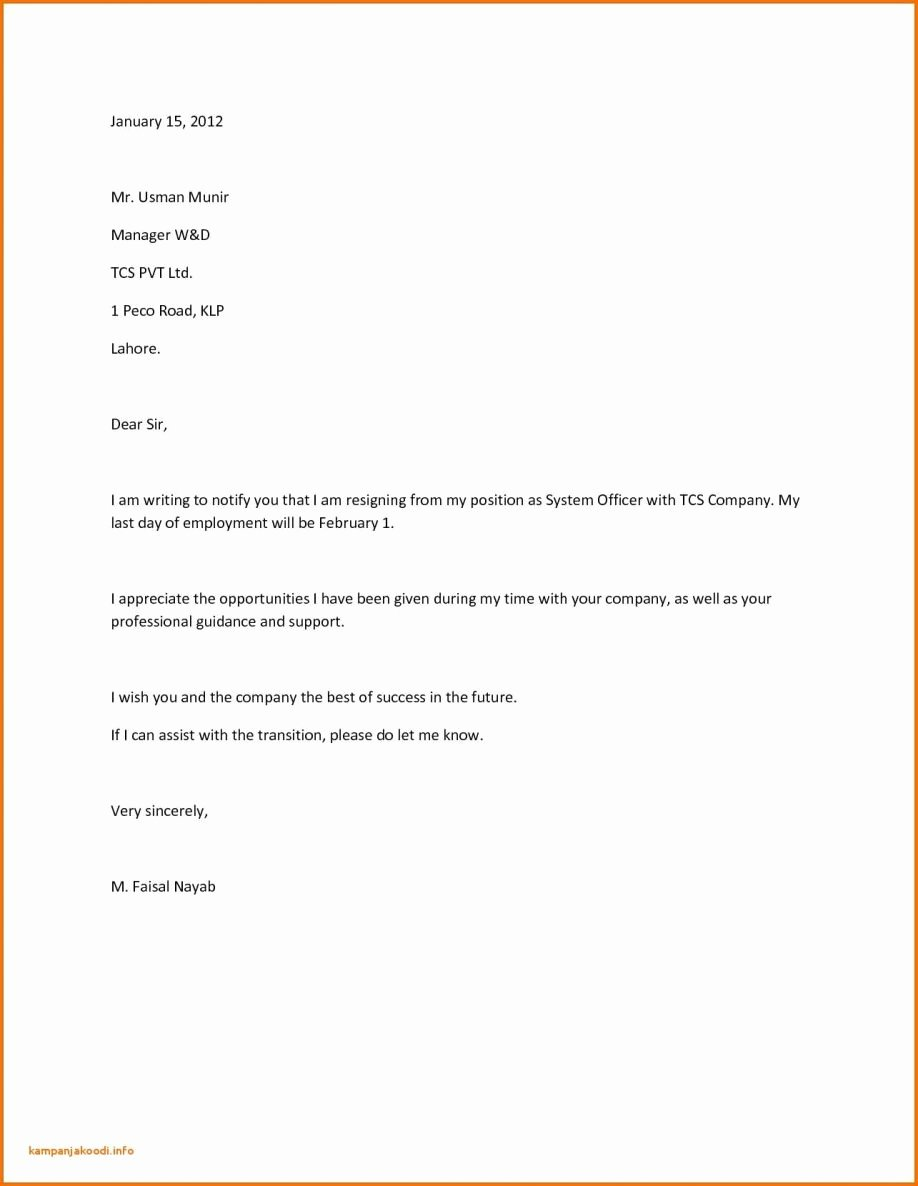 Resignation Letter 30 Days Notice Awesome Resignation Letter 30 Days Notice Period Sample assisted Living Day Template Examples form Doc