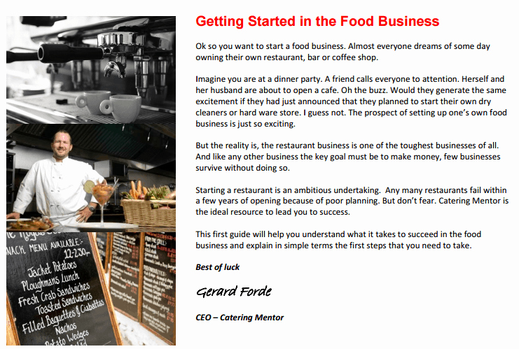 Restaurant Business Plan Pdf Awesome 32 Free Restaurant Business Plan Templates In Word Excel Pdf