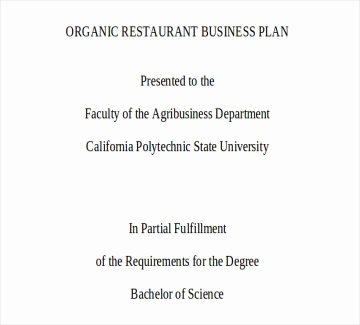 Restaurant Business Plan Pdf Inspirational How to Set Up A Restaurant Bar 11 Free Pdf Doc format