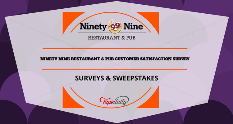 Restaurant Customer Satisfaction Survey Lovely Ninety Nine Restaurant & Pub Survey