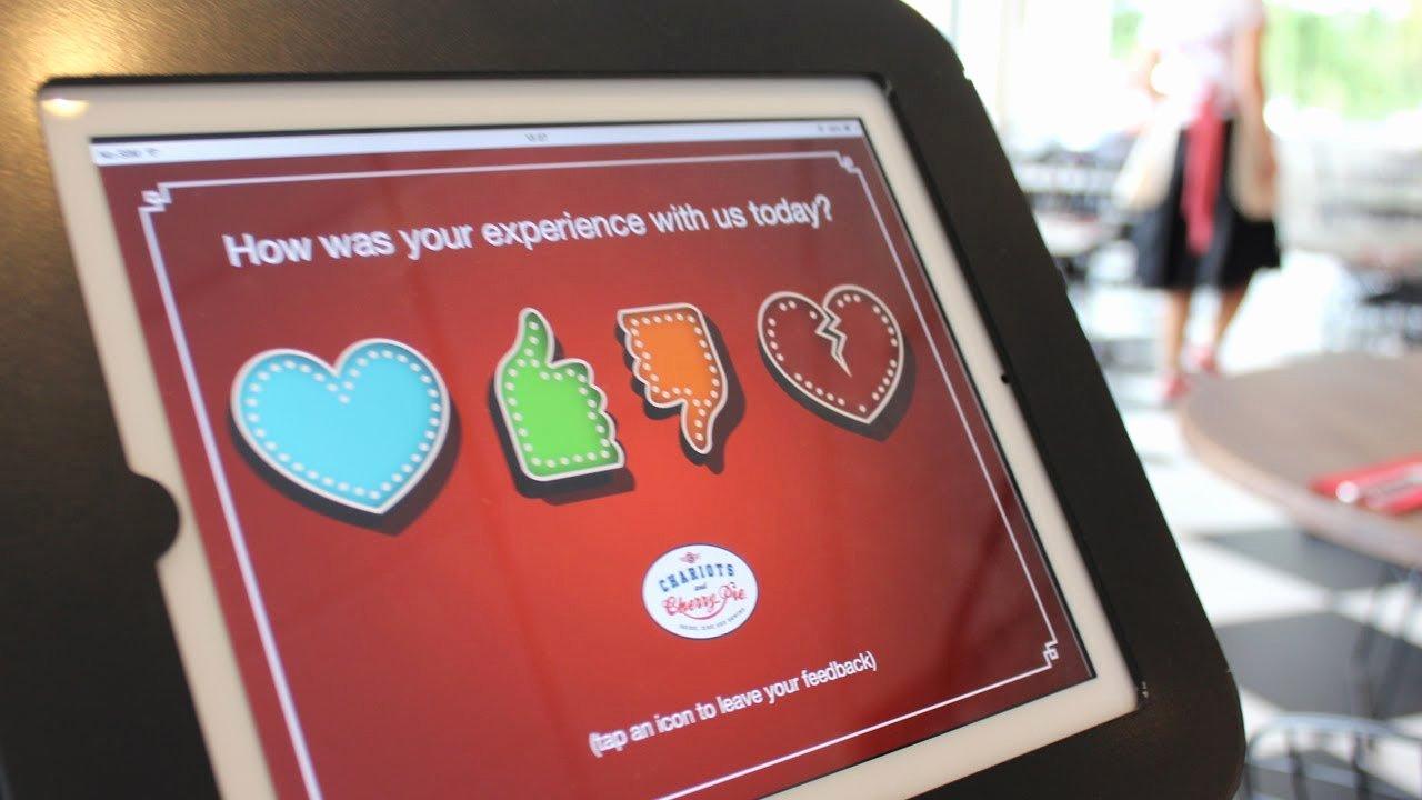 Restaurant Customer Satisfaction Survey Luxury E Tap Tablet Customer Satisfaction Survey for Restaurants
