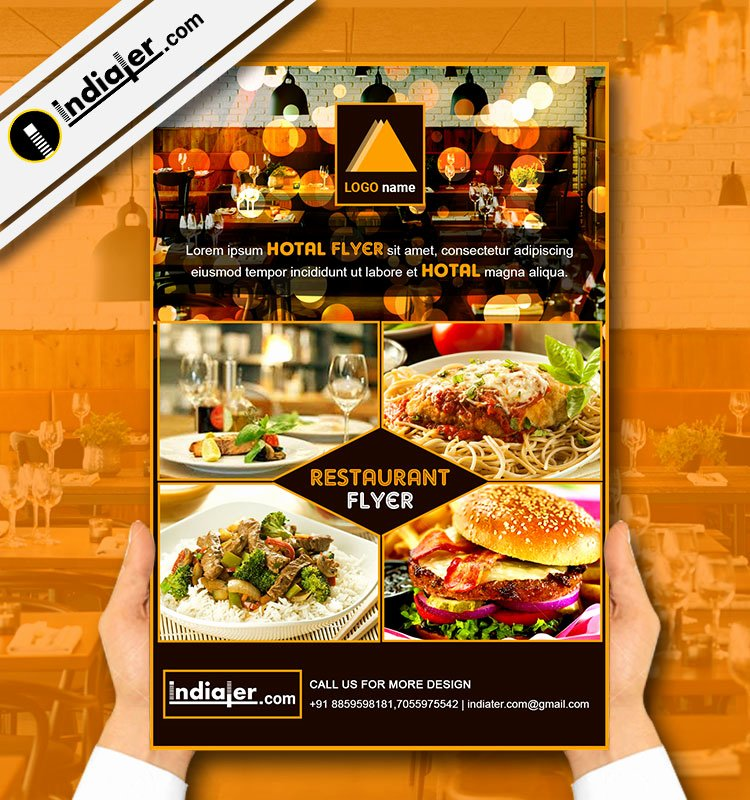 Restaurant Flyer Templates Free Best Of Indiater