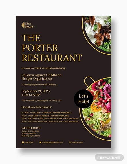Restaurant Flyer Templates Free Elegant 68 Restaurant Flyer Templates Word Pdf Psd Eps