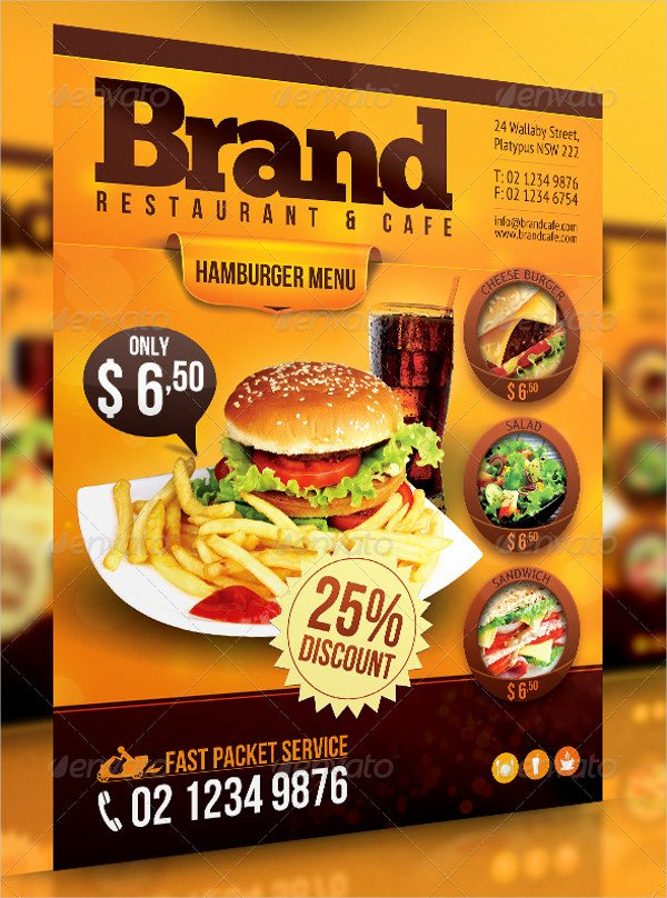 Restaurant Flyers Templates Free Beautiful 62 Example Of Flyer Templates Psd Ai Vector Eps