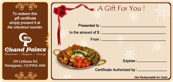 Restaurant Gift Certificates Templates Awesome Can You Return Best T Cards Party City Free Shipping No Minimum