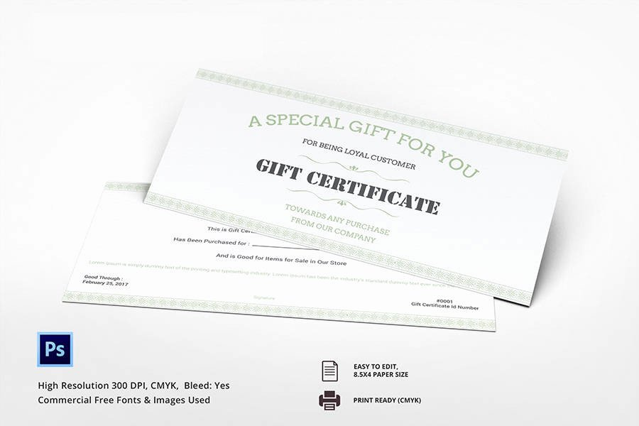 Restaurant Gift Certificates Templates Best Of 7 Free Gift Certificate Templates Birthday Business Spa Restaurant