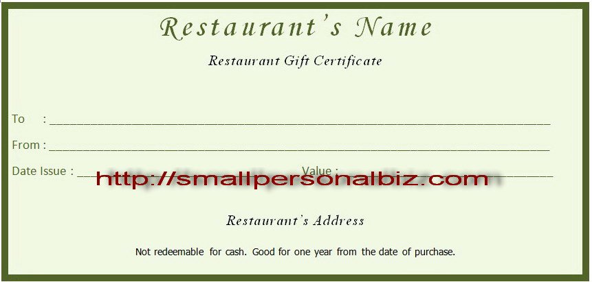Restaurant Gift Certificates Templates Best Of Gift Template Category Page 3 Mogency
