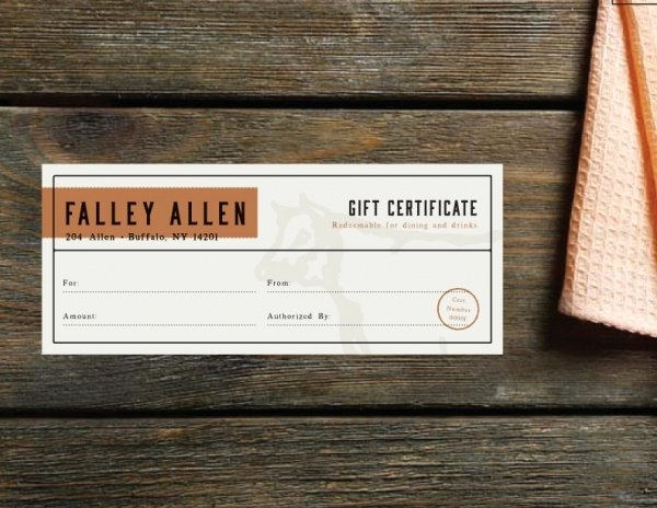 Restaurant Gift Certificates Templates Luxury 21 Free Gift Certificates Psd Ai Word Vector Eps Download