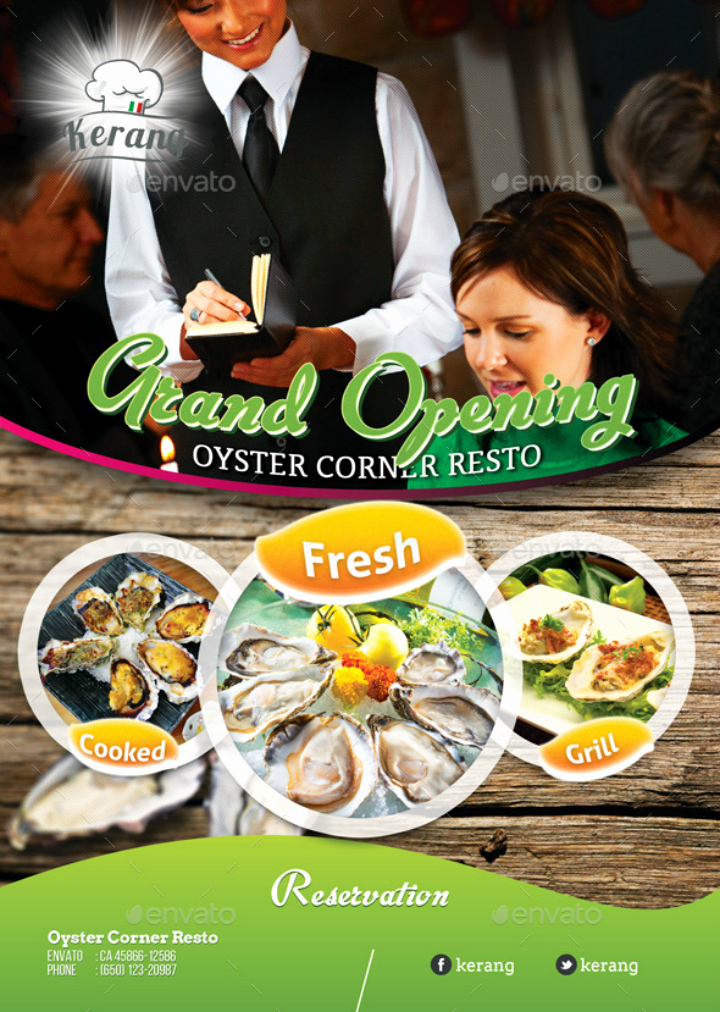 Restaurant Grand Opening Flyer Elegant 22 Restaurant Grand Opening Flyer Templates Ai Psd Word