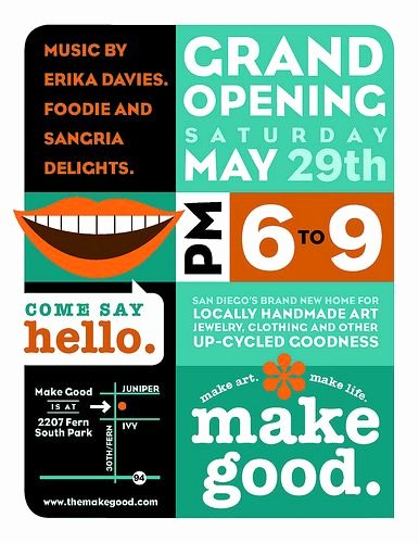 Restaurant Grand Opening Flyer Inspirational Grand Opening Poster Thrift Store Ideas