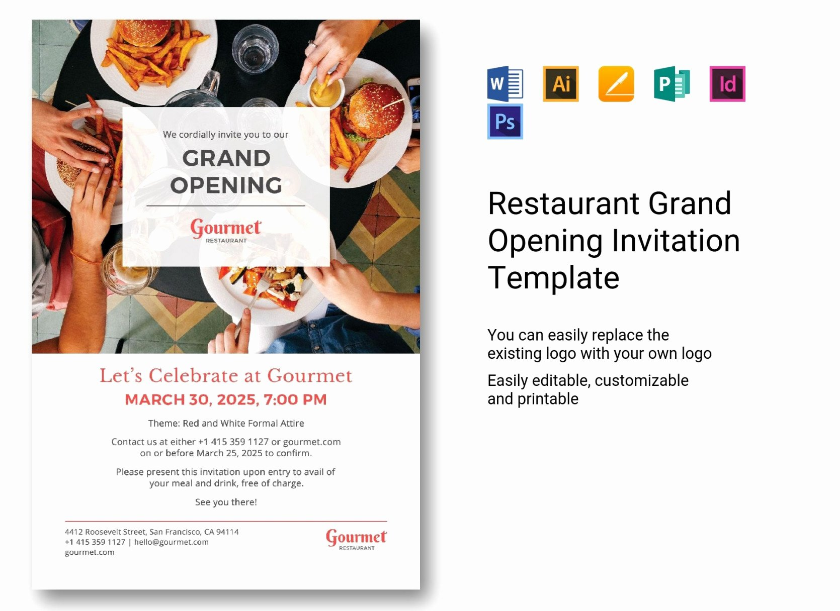 Restaurant Grand Opening Invitation Lovely Invitation Card