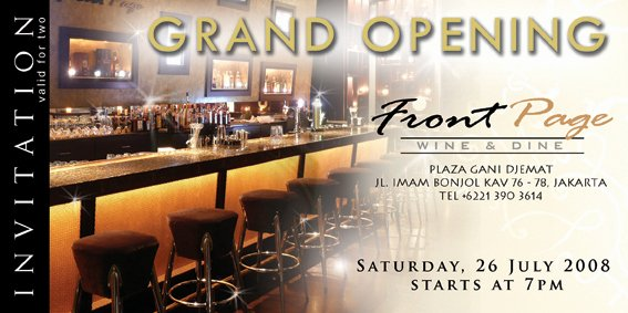 Restaurant Grand Opening Invitation Unique Grand Opening Invitation 2 by Anastasia Martani On Deviantart