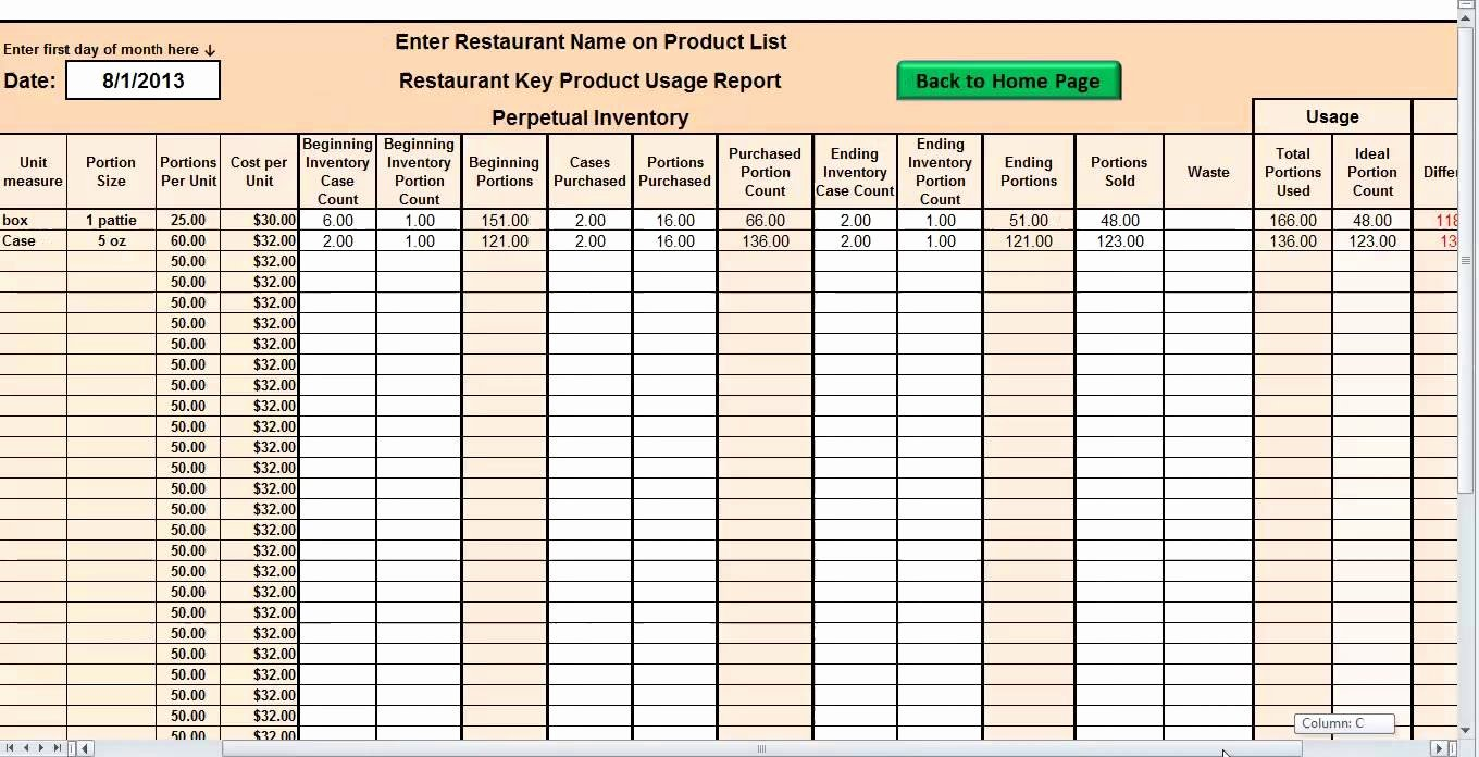 Restaurant Inventory Management Excel Inspirational Restaurant Inventory Management Excel Laobing Kaisuo