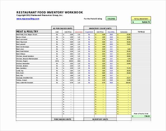 Restaurant Inventory Management Excel Lovely Restaurant Inventory Template 27 Free Word Excel Documents Download