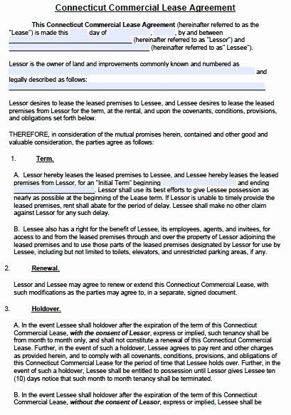 Restaurant Lease Agreement Pdf Fresh Mercial Lease Agreement