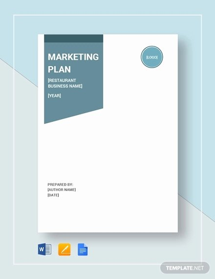 Restaurant Marketing Plan Pdf Beautiful 12 Restaurant Marketing Plan Examples Pdf Word