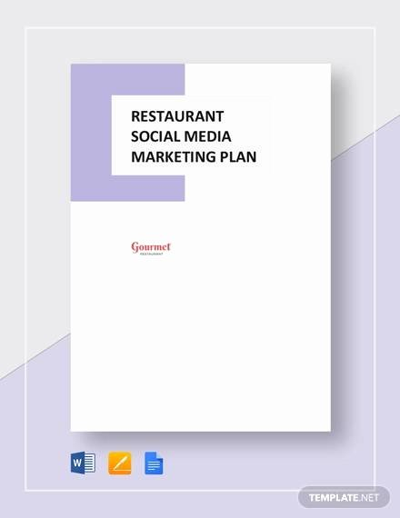 Restaurant Marketing Plan Pdf Lovely Marketing Plan Example 16 Samples In Pdf Word