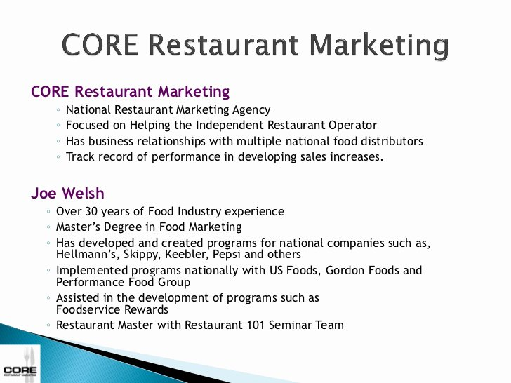 Restaurant Marketing Plan Pdf New 13 Restaurant Marketing Plan Examples Pdf Word Pages