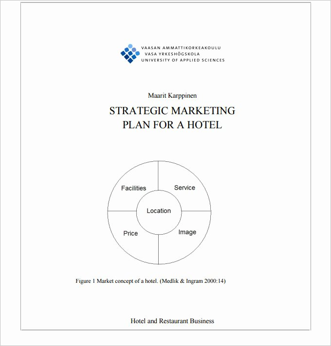 Restaurant Marketing Plan Pdf New Hotel Marketing Plan Template 3 Free Pdf Documents Download