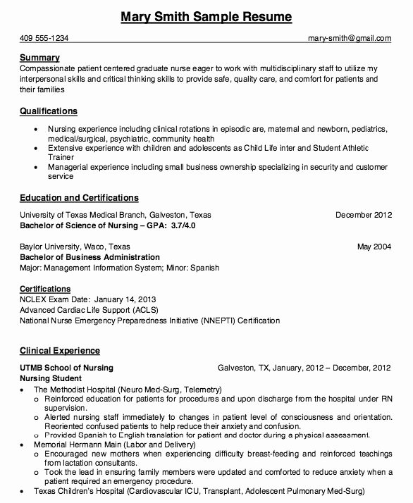 Resume for Nursing Student Awesome Pin by Ririn Nazza On Free Resume Sample